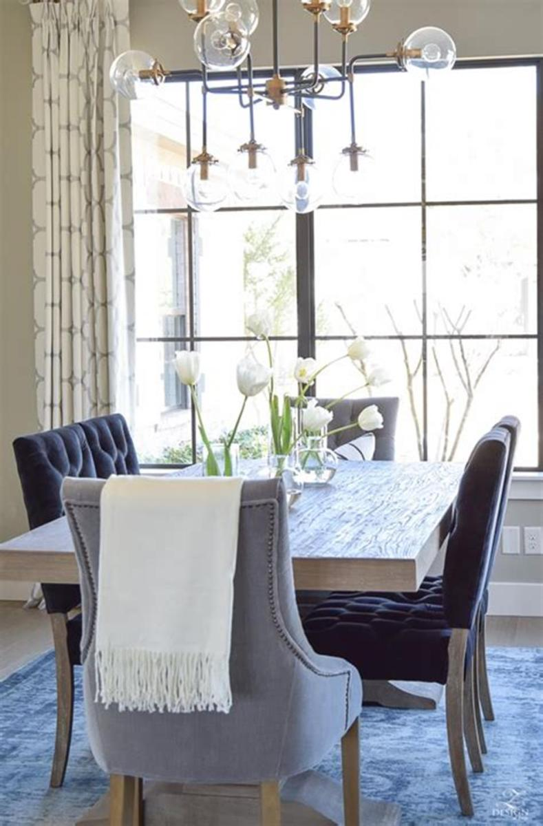 35 Stunning Spring Kitchen and Dining Room Decorating Ideas 2019 45