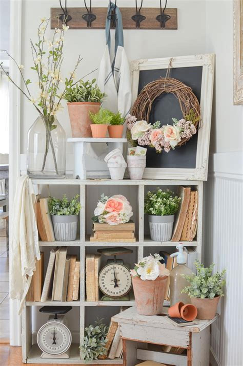 35 Stunning Spring Kitchen and Dining Room Decorating Ideas 2019 46