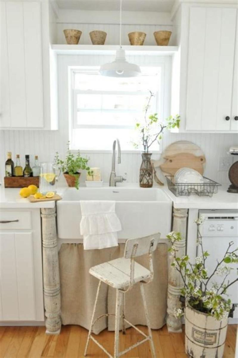 35 Stunning Spring Kitchen and Dining Room Decorating Ideas 2019 56