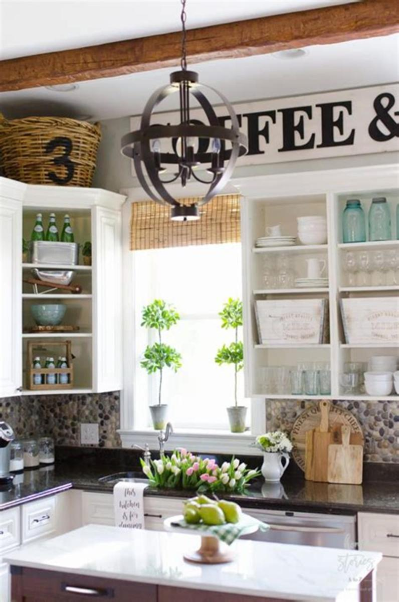 35 Stunning Spring Kitchen and Dining Room Decorating Ideas 2019 57