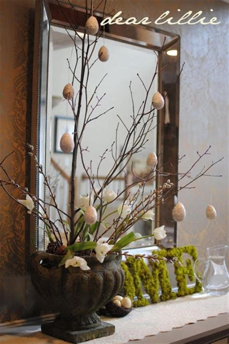 40 Beautiful DIY Easter Table Decorating Ideas for Spring 2019 23