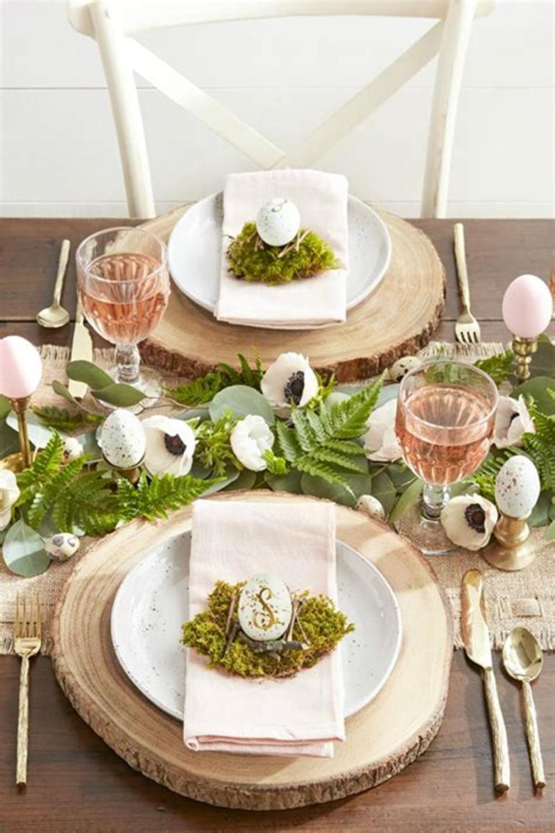40 Beautiful DIY Easter Table Decorating Ideas for Spring 2019 35