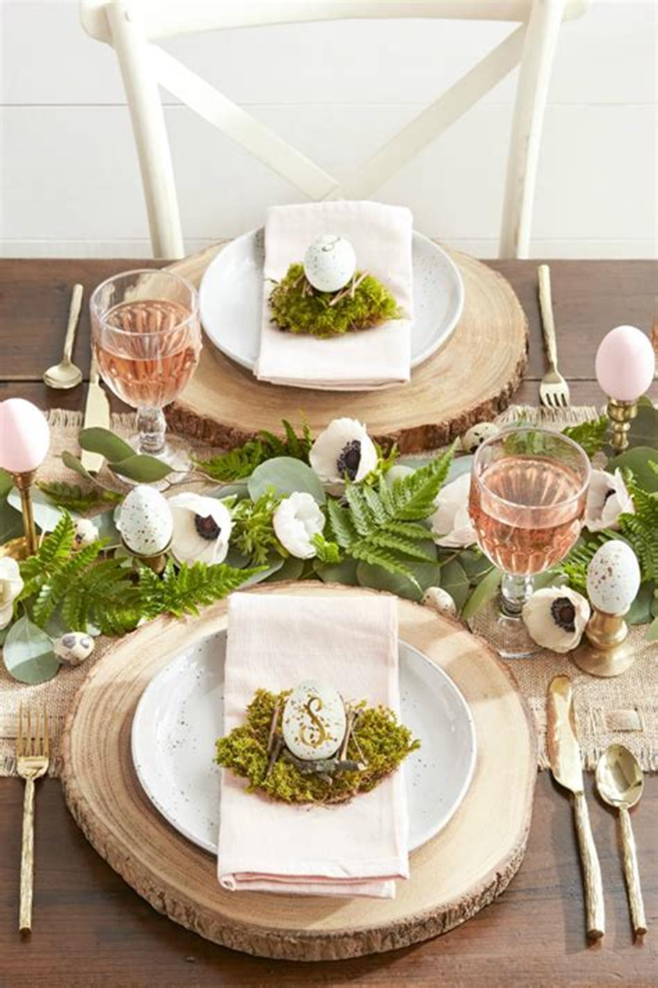 40 Beautiful DIY Easter Table Decorating Ideas for Spring ...