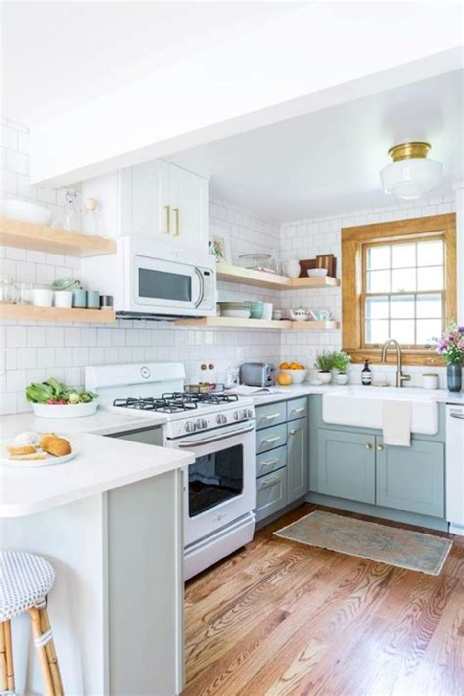 43 Amazing Kitchen Remodeling Ideas for Small Kitchens 2019 34