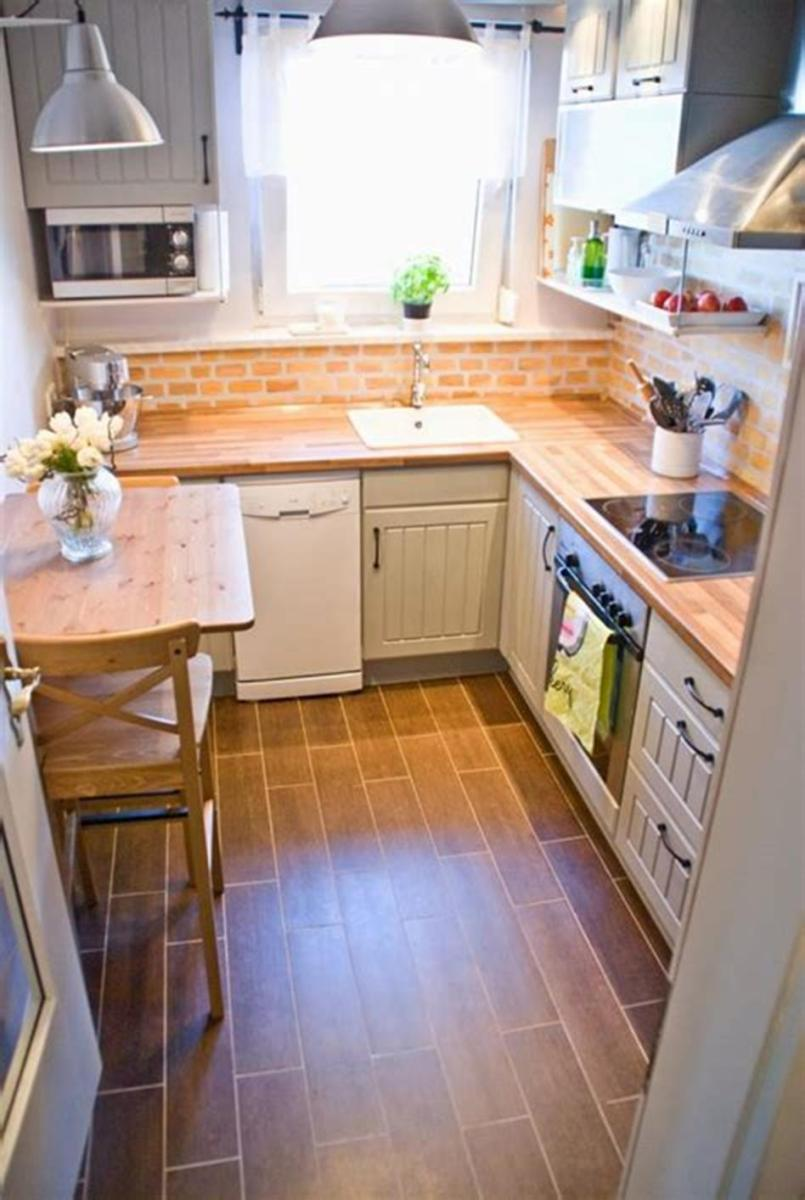 43 Amazing Kitchen Remodeling Ideas for Small Kitchens 2019 54