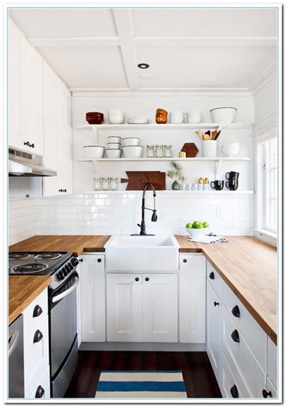 43 Amazing Kitchen Remodeling Ideas for Small Kitchens 2019 59