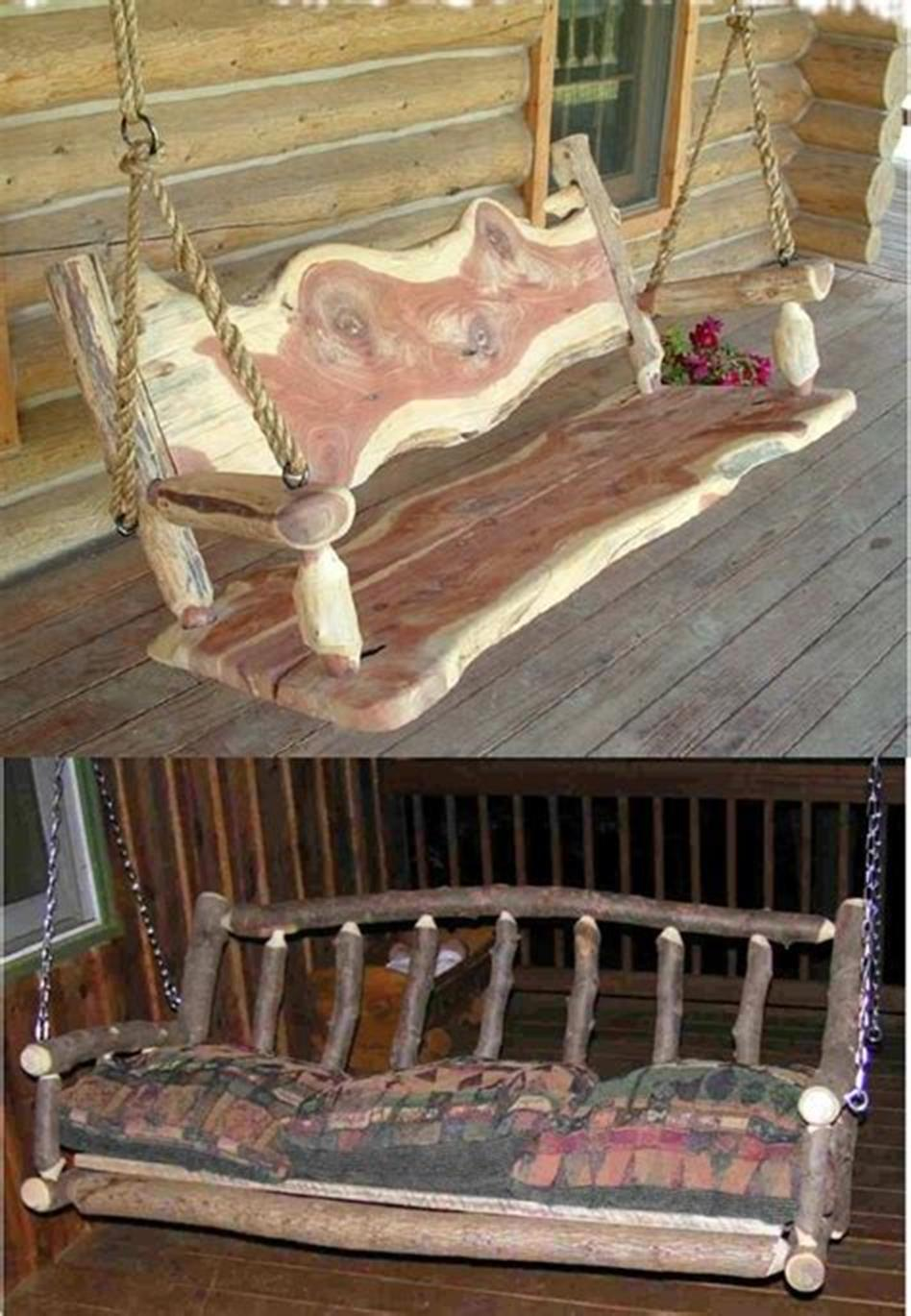 45 Perfect Rustic Porch Furniture Ideas for 2019 5