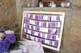 Plan de table escort cards