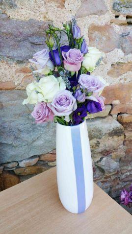 Composition florale pour les buffets extérieurs