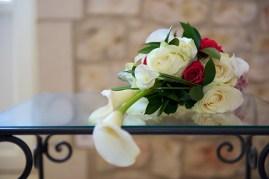 Bouquet classique légèrement tombant