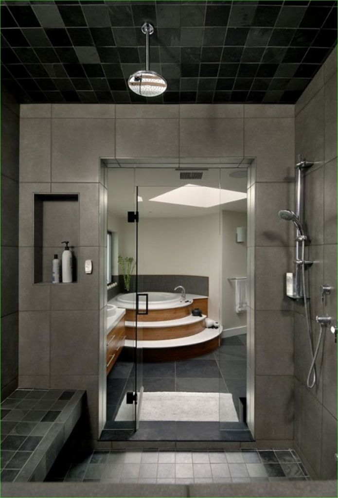 Modern Craftsman Style Bathroom 32 30 Great Craftsman Style Bathroom Floor Tile Ideas and Pictures 1