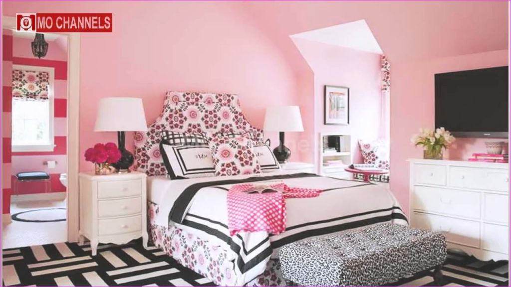 Cute Mix Color Bedrooms for Teenage Girls 17 Girl Bedroom Designs 2017 3