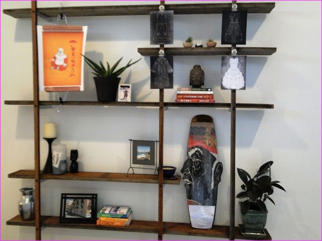 Wall Display Shelving Ideas 62 60 Ways to Make Diy Shelves A Part Your Home S Décor 2