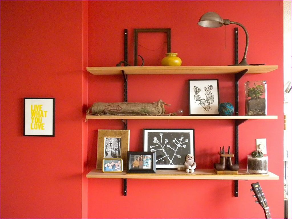 Wall Display Shelving Ideas 91 Creative Ideas Oak Wooden Three Tier Modern Wall Shelves for Crafts Frames Display Hang 2
