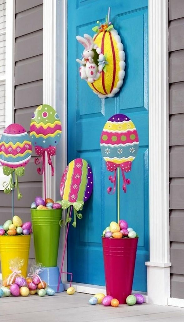 Outdoor Spring Decor 27