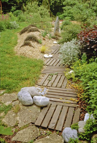 Wood Garden Pathways 1