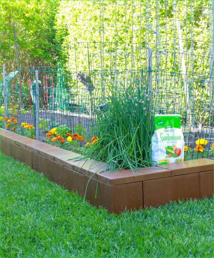 Garden Edging and Borders 72 Modular Plastic Border Edging Blocks for Your Garden and Home — Everblock 3
