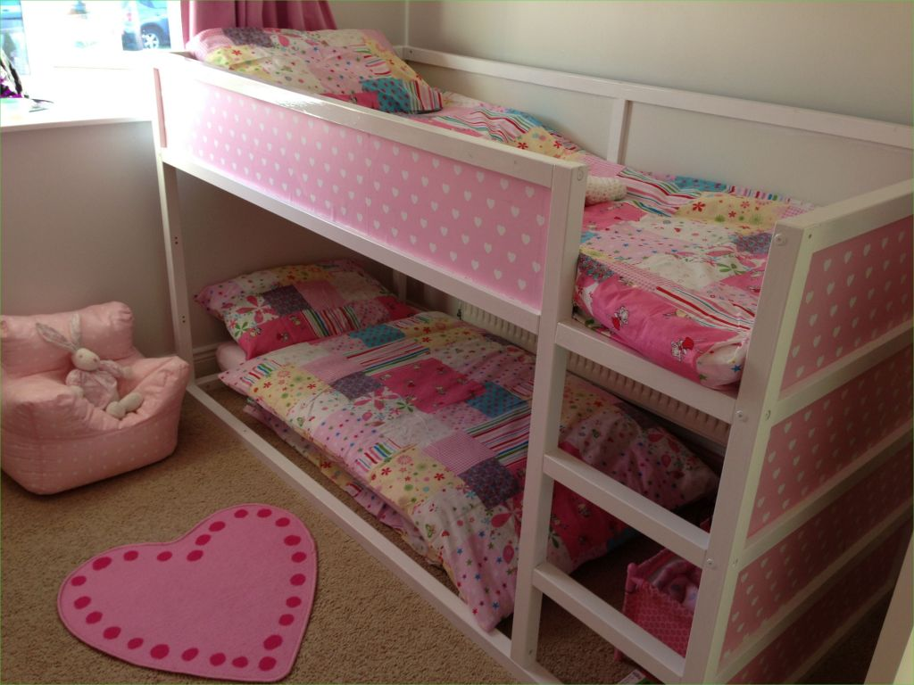 Ikea Kura Beds Kids Room 17 Pink Ikea Kura Hack Girls Pinterest 1