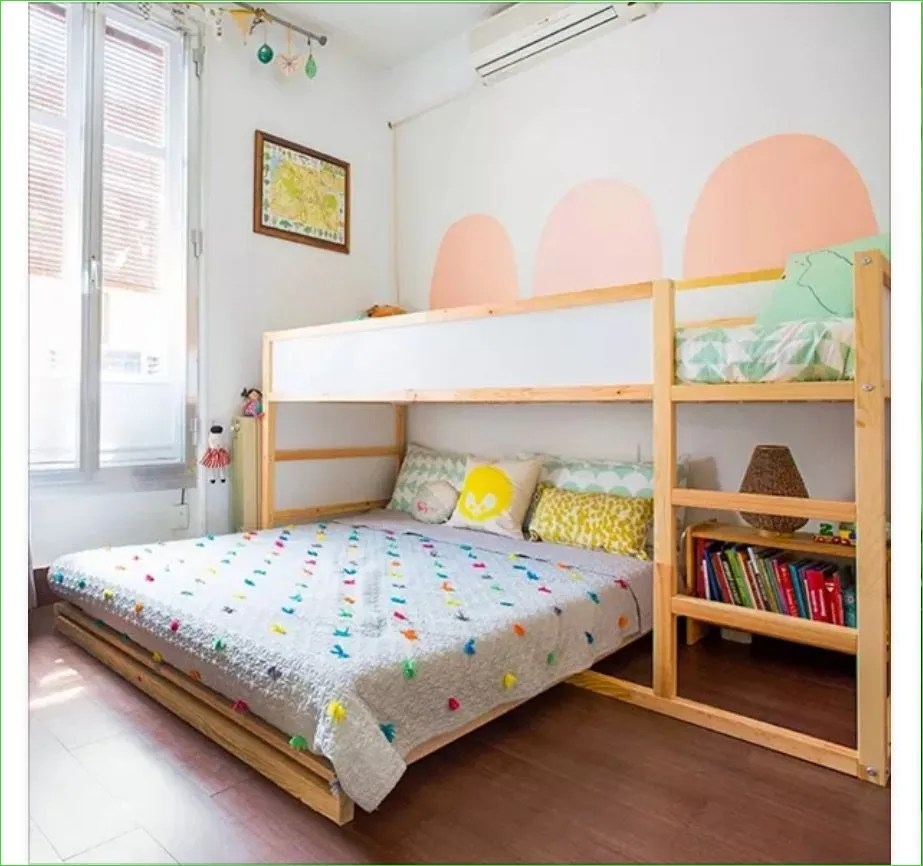 Ikea Kura Beds Kids Room 85 Ikea Kura Bed with Full Bed Under Girls Shared Room 8