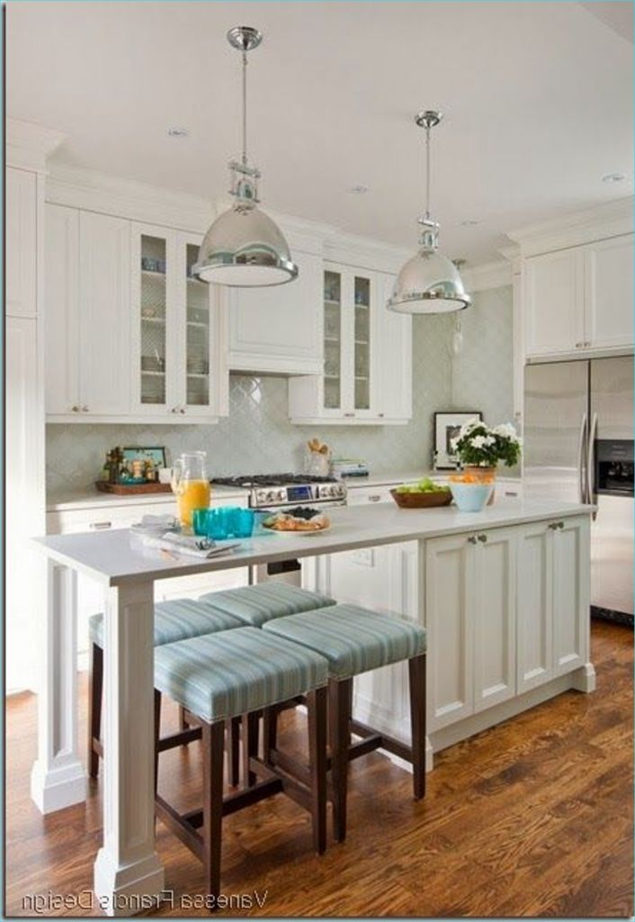 Narrow Kitchen island with Seating 67 Long Narrow Kitchen with island Long Raised Mirror Modern Bar K C R 4