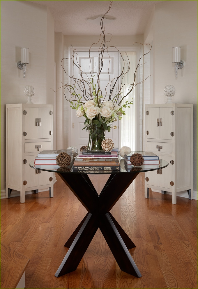 Round Foyer Entrance 41 Favorite Round Entryway Table Ideas 4