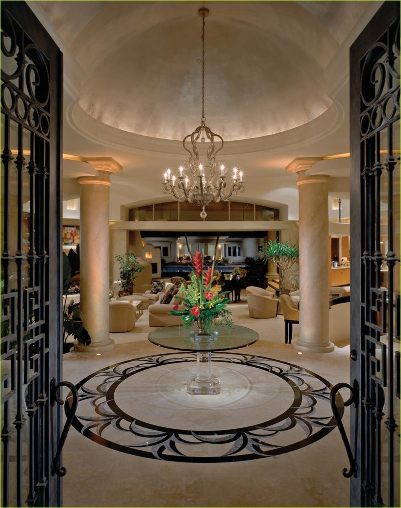 Round Foyer Entrance 68 56 Beautiful and Luxurious Foyer Designs 5