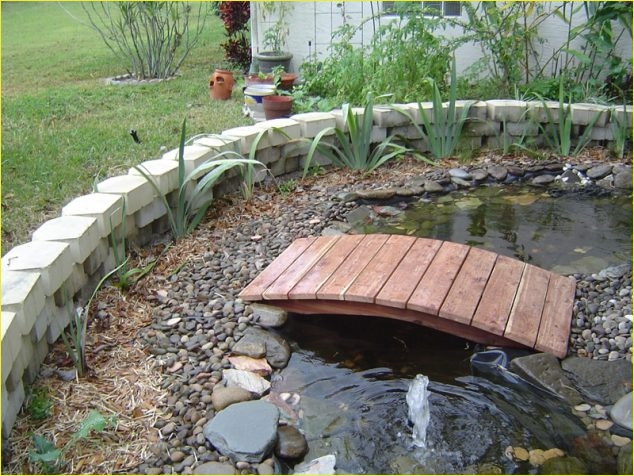 Small Backyard Bridge 79 15 Inspirative Garden Pond with Bridge that You Would Like to See 7