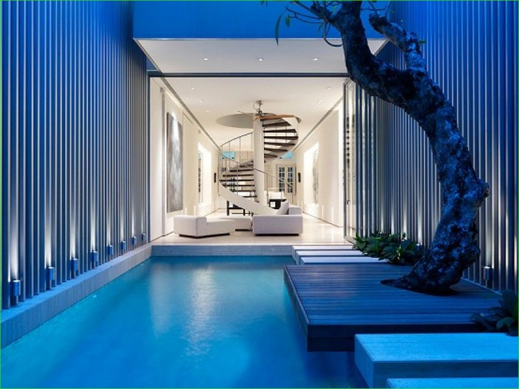 Small Indoor Swimming Pool for Minimalist House 45 50 Best Architecture Design House 9
