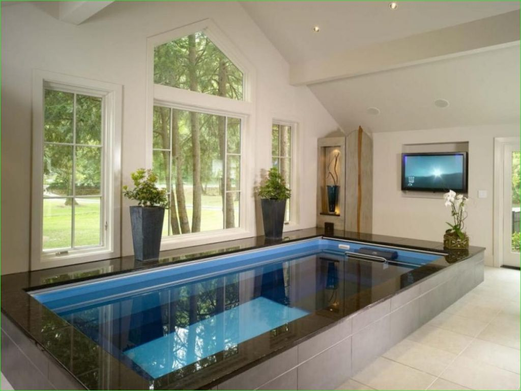 46 Amazing Small Indoor Swimming Pool For Minimalist Home Decor Renewal