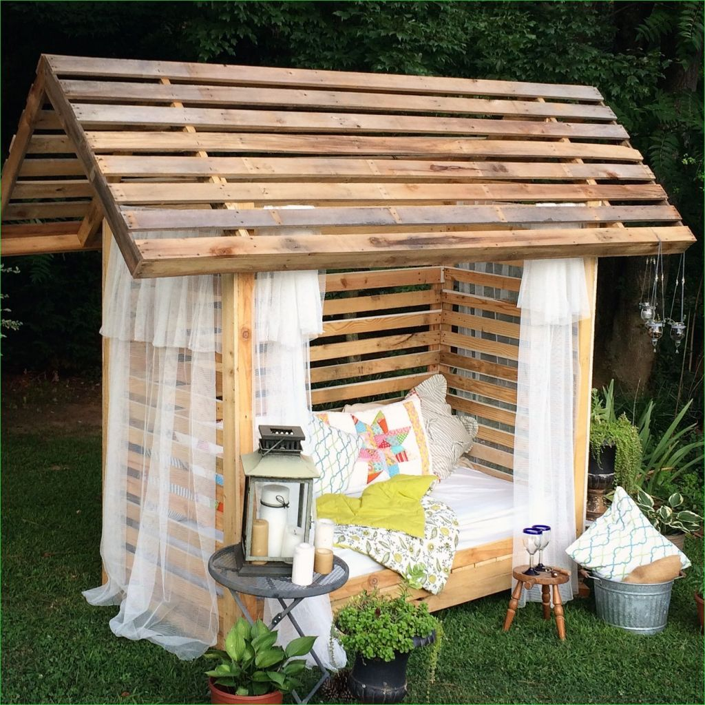 Small Outdoor Reading Nook 46 My Hubby Did It Himself Dih for Me Country Cabana Lounge House Outdoor Reading Nook 3