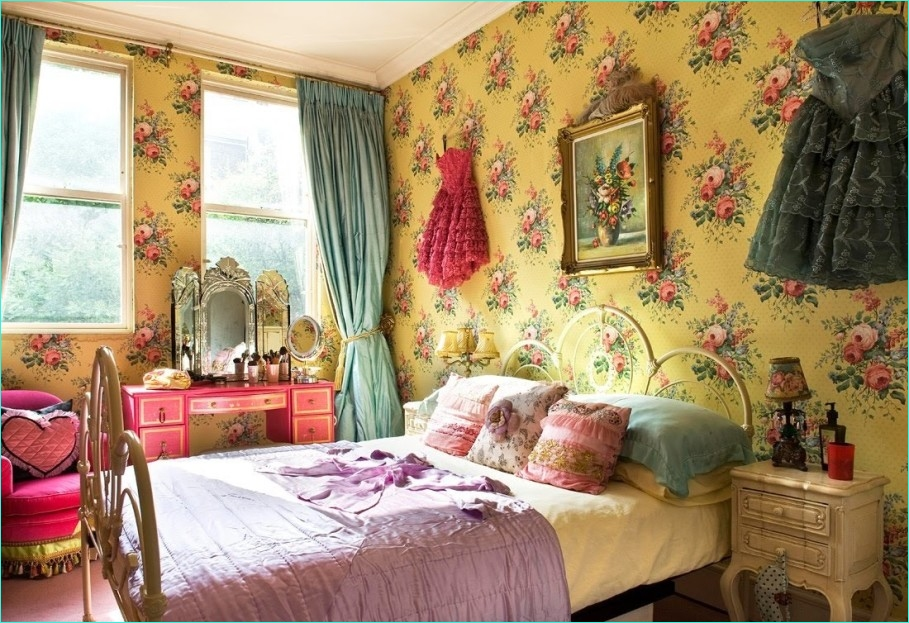 Whimsy Home Decor and Unique Furnishings 57 Bedroom Whimsical Vintage Bedroom Décor that You Can Diy Luxury Busla Home Decorating Ideas 7