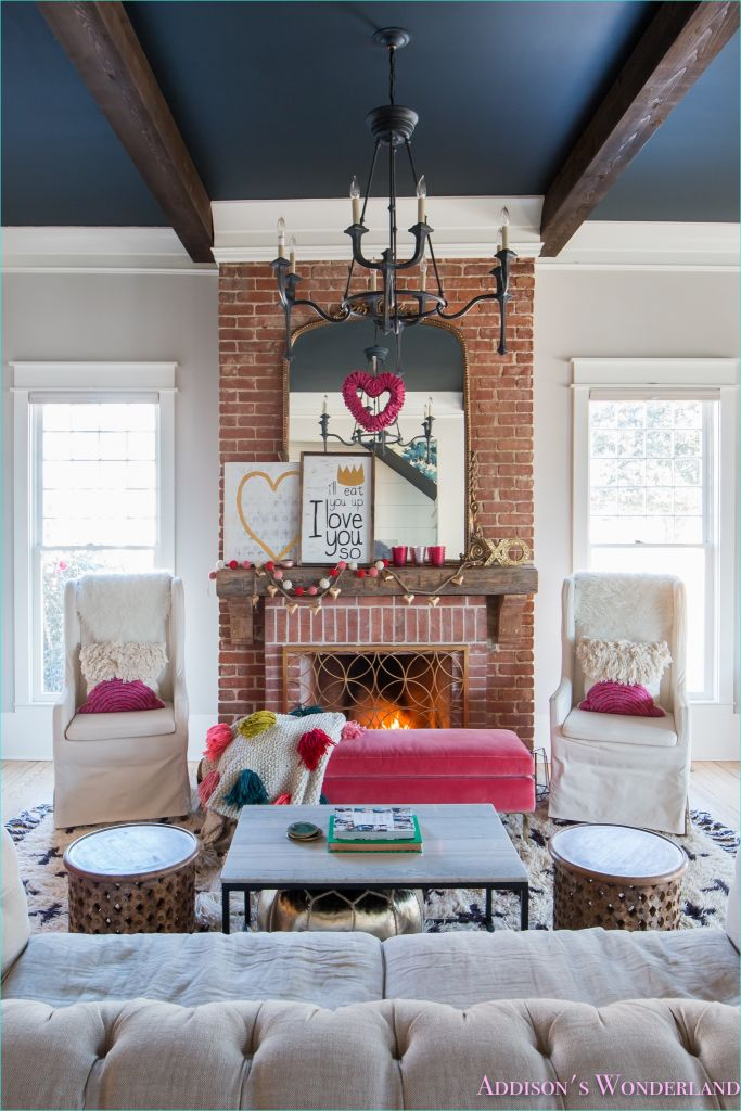 Whimsy Home Decor and Unique Furnishings 59 Our Colorful Whimsical & Elegant Valentine S Day Living Room Decor 6