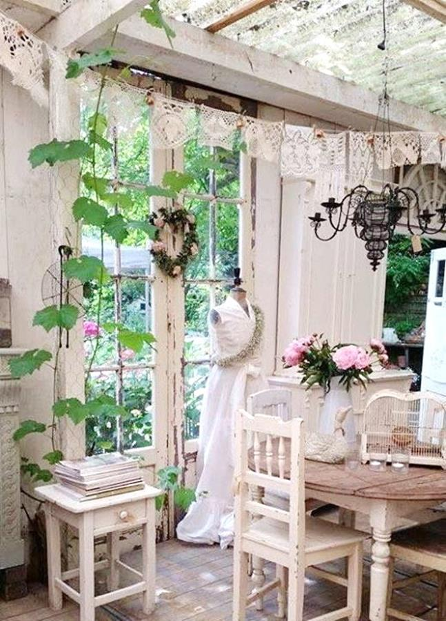 Shabby Chic Garden Decor 62