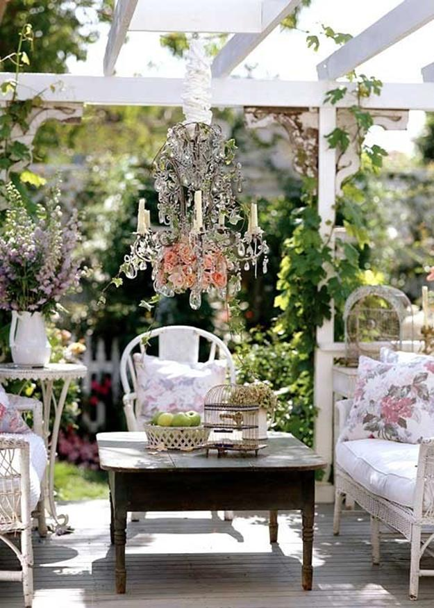 Shabby Chic Garden Decor 69