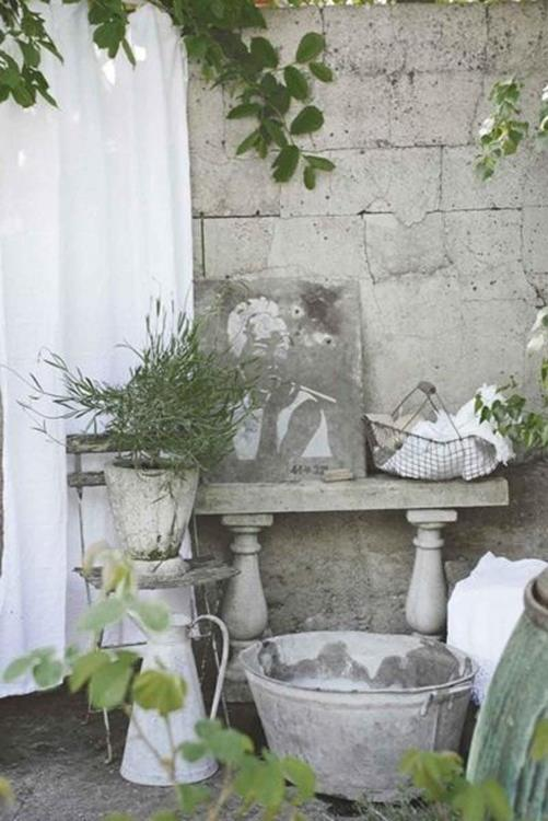 Shabby Chic Garden Decor 88