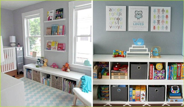 Nursery Wall Shelf Ikea 51 Clever Nursery organization Ideas Project Nursery 5