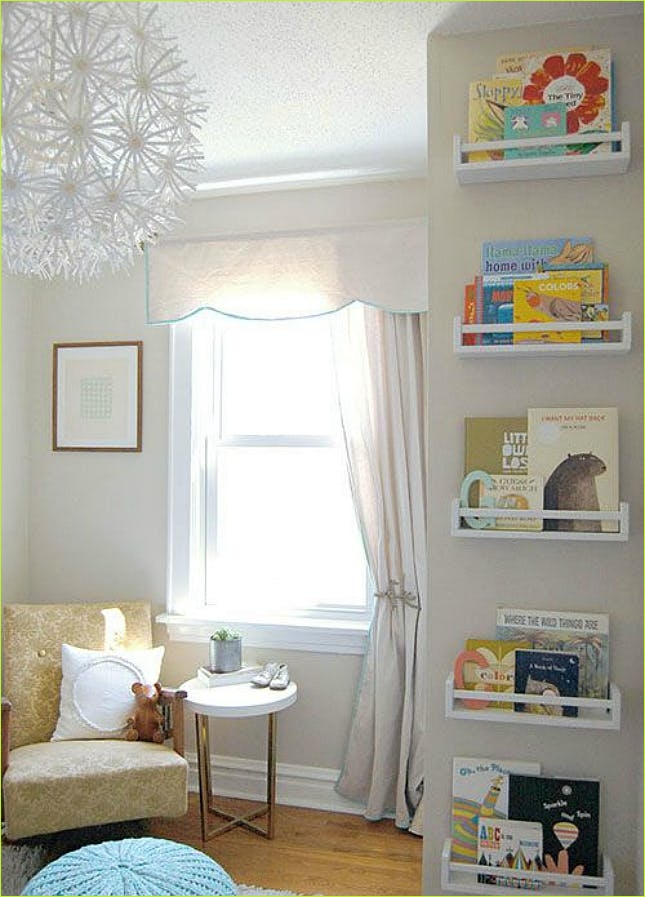 Nursery Wall Shelf Ikea 81 12 Space Saving Hacks for Your Small Nursery 3
