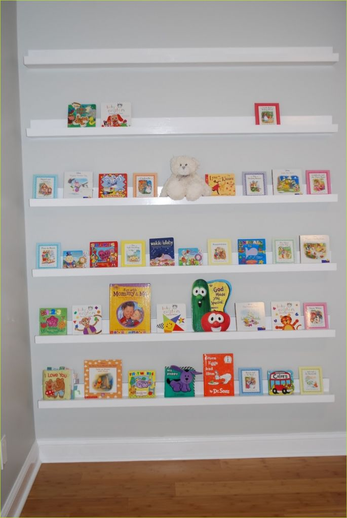 Nursery Wall Shelf Ikea 49 Ana White 1