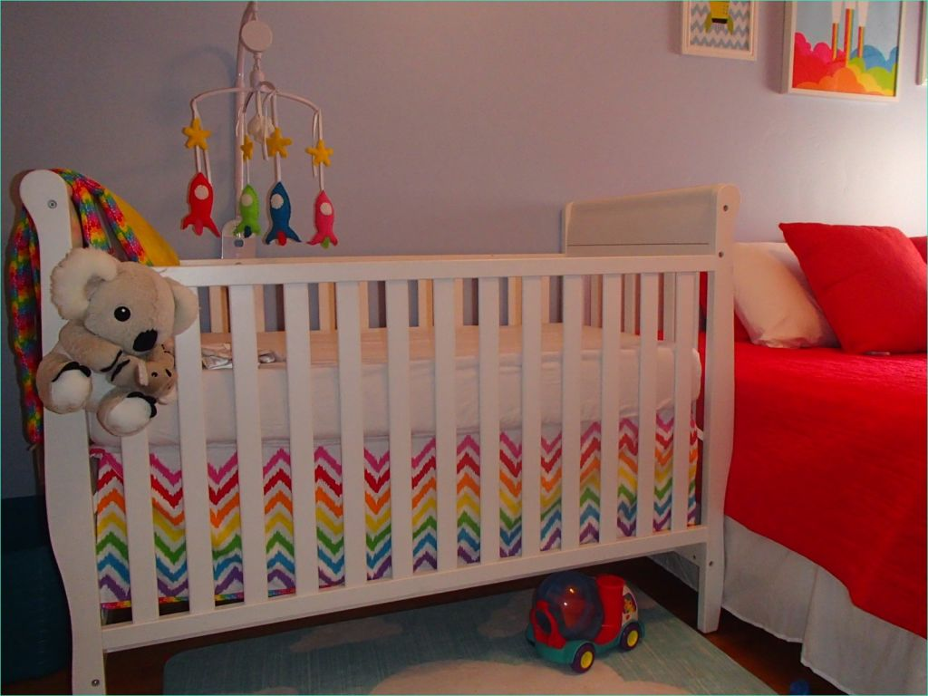 Rainbow theme toddler Room 98 Paved with Good Intentions Mommy Mondays thatbaby S Nursery 5