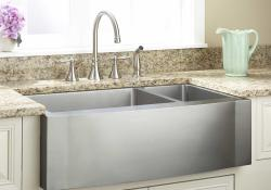Granite Composite Farmhouse Sink 14
