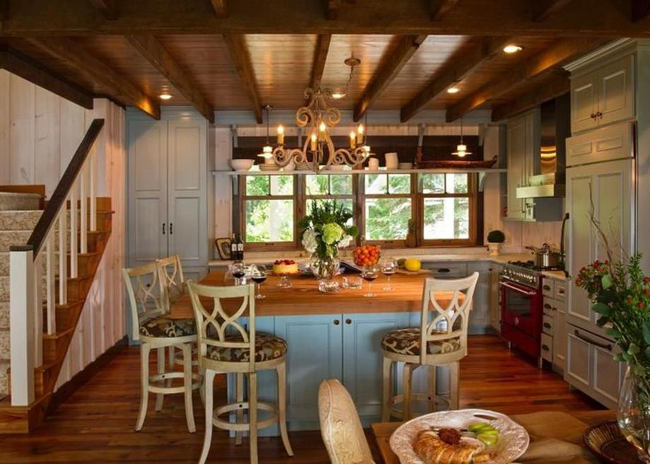 Gourmet Farmhouse Kitchen 12