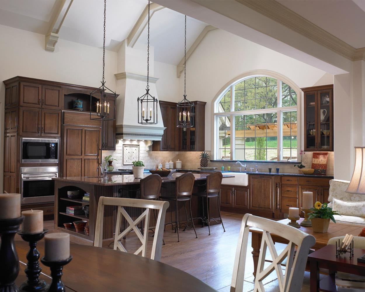 Gourmet Farmhouse Kitchen 2
