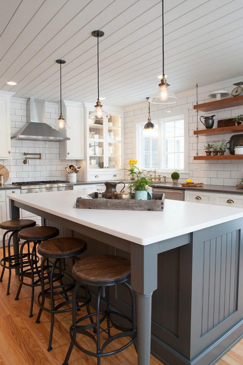 Gourmet Farmhouse Kitchen 25