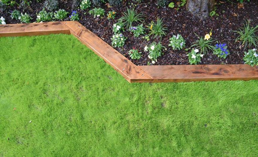 Wood Lawn Edging Ideas 35