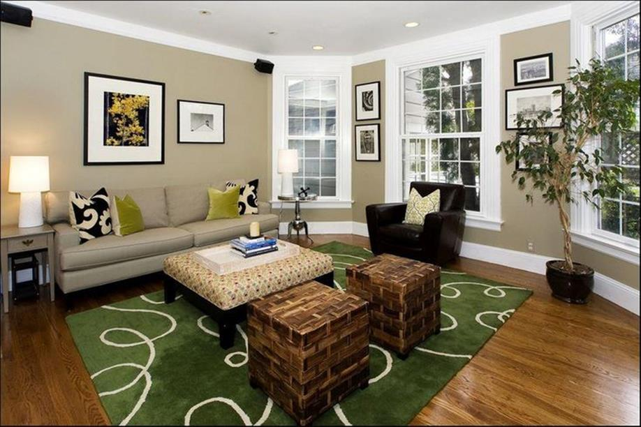 Living Room Accent Wall Color Combinations 10