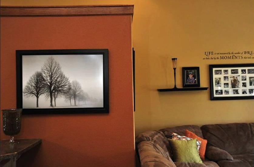 Living Room Accent Wall Color Combinations 2