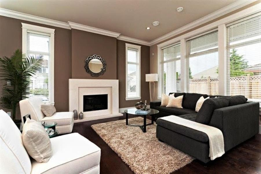 Living Room Accent Wall Color Combinations 24