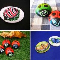 37 Simple DIY Painted Rock Ideas For Garden