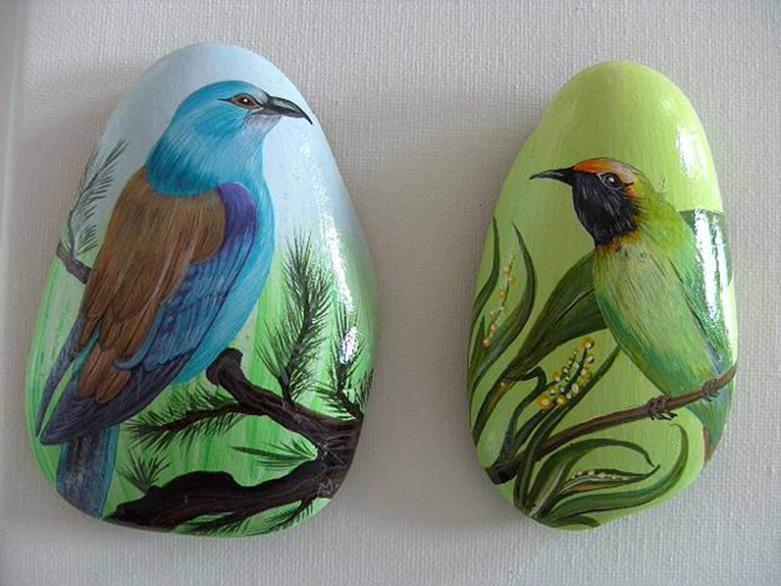 Simple Painted Rock Ideas For Garden 28