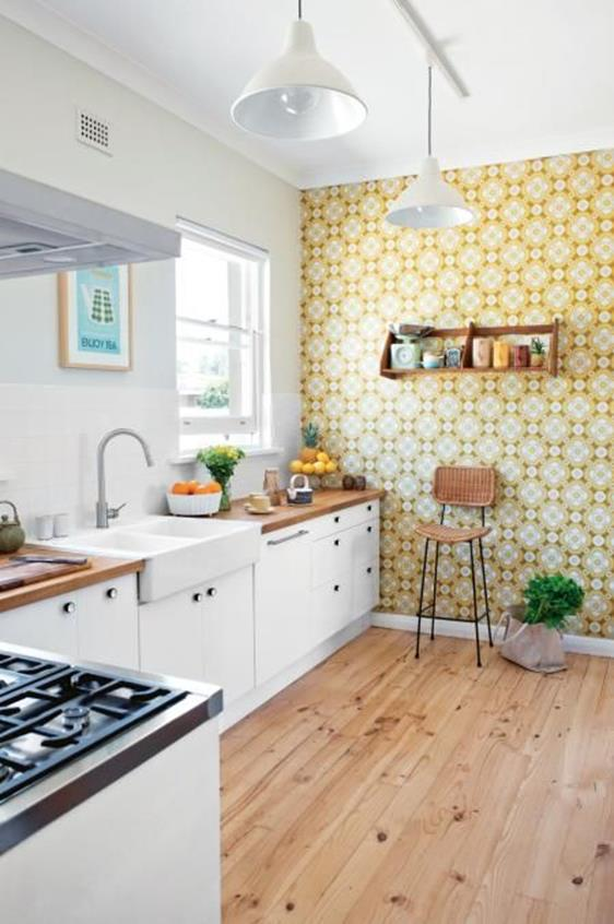 Awesome Retro Style Kitchen Design 20